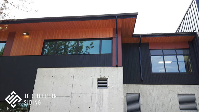 Aluminum Wood Grain Siding Jc Superior Siding Inc