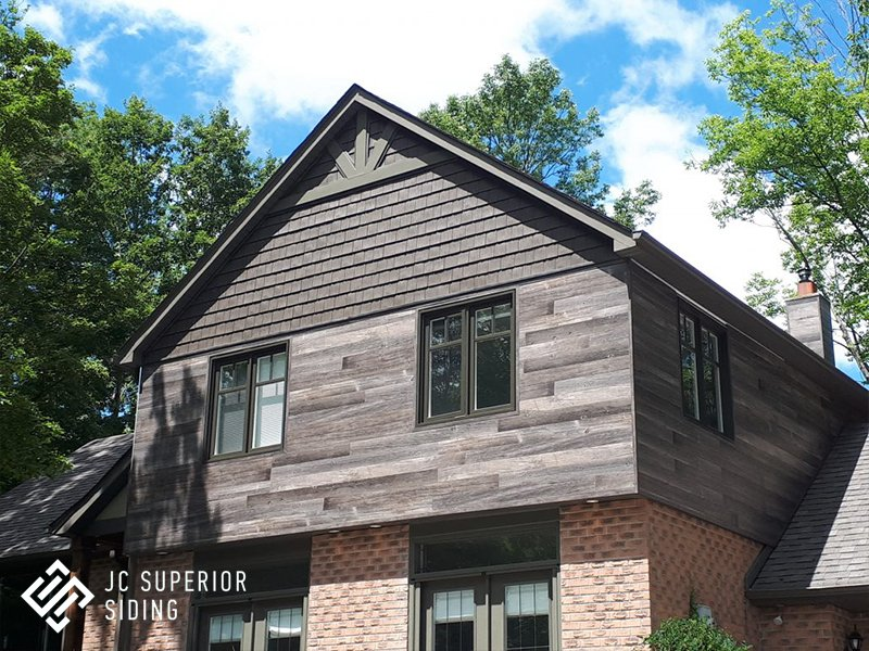 JC Superior Siding Inc. | Aluminum Wood Grain Siding