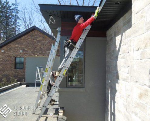 Toronto,Longboard,siding,composite,soffit,fascia,eavestrough,capping,aluminum